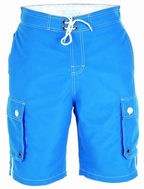 D555 Zwemshort m. zijpockets, koningsblauw