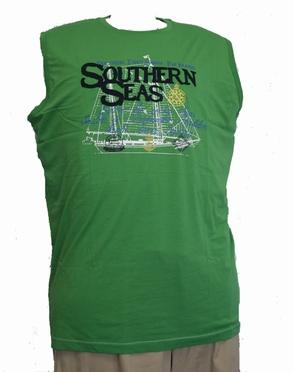 Singlet 'Southern Seas', groen