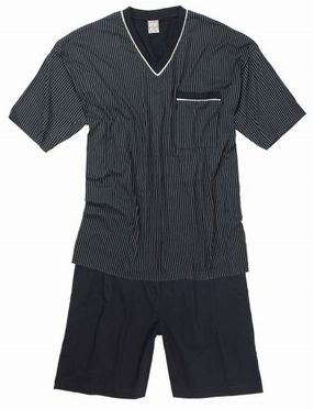 Korte pyjama SHORTY, antraciet