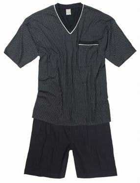 Korte pyjama SHORTY, antraciet