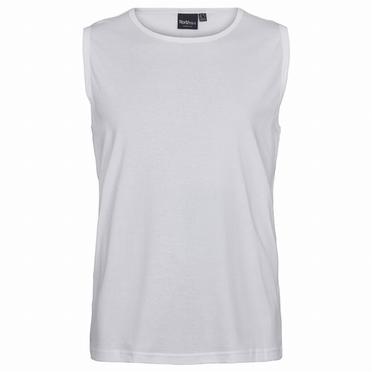North 56°4 Onderhemd, wit