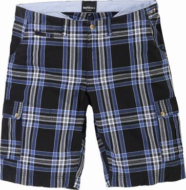 North 56°4 Checked shorts, geruit