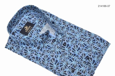 Culture blouse lange mouw ATLANTA, blauw