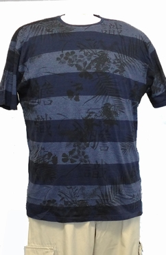 Kitaro t-shirt Keeling Islands, blue grey melange