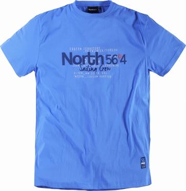 T-shirt 'North 56°4', blauw