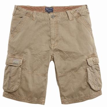 Replika cargo shorts, sand
