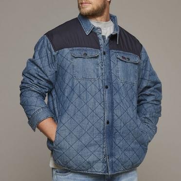 Replika Jeans jacket, blue used wash