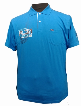 Polo 'Water Speed Race Team', koningsblauw