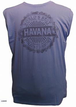 Kitaro tanktop 'Cafe Cuba', jeans