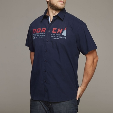 North 56°4 shirt KM 'North Pro Series', navy