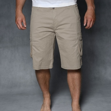 North 56°4 Shorts m. stretch Icons, light sand