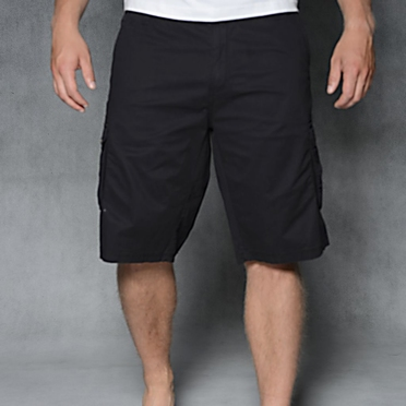 North 56°4 Shorts m. stretch Icons, zwart
