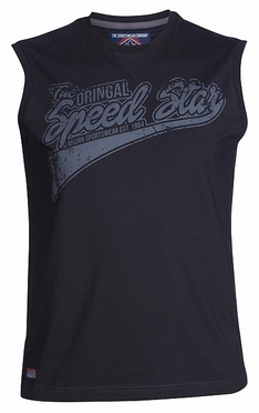 Ahorn Tanktop 'Original Speed', zwart