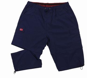 Afritsbare 2-in-1 Cargo korte broek, navy