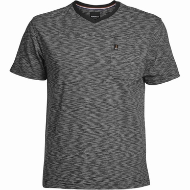 North 56°4 t-shirt gestreept, navy blauw