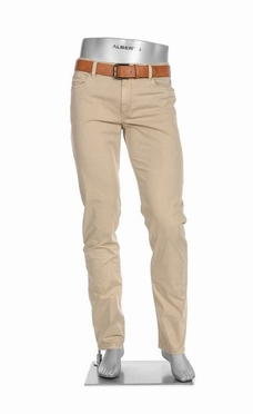 Alberto 5-pocket Superfit Pipe Broken Twill, beige