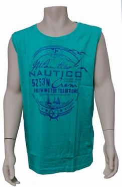 Meantime Singlet Tanktop Nautico, groen