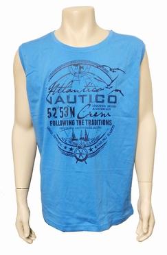 Meantime Singlet Tanktop Nautico, l. blauw