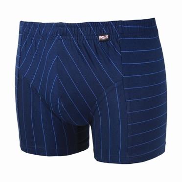 MAC boxerpant micromodal, navy/blauw streep