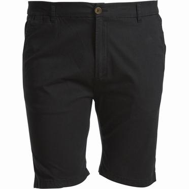 North 56°4 Chino shorts m. stretch, zwart