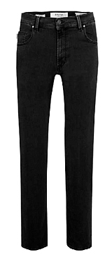 Pionier 5-pocket jeans Peter stretch m. hoge taille, zwart