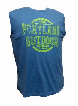 Ahorn Tanktop 'Portland Outdoor', blauw