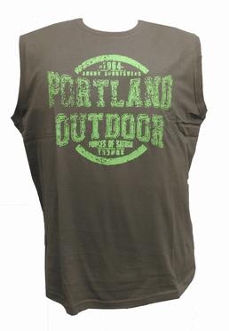 Ahorn Tanktop 'Portland Outdoor', olijfgroen