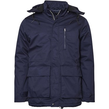 North 56°4 Winterparka 3/4 m. capuchon, navy