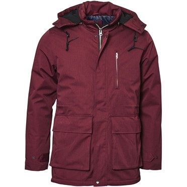 North 56°4 Winterparka 3/4 m. capuchon, bordeaux