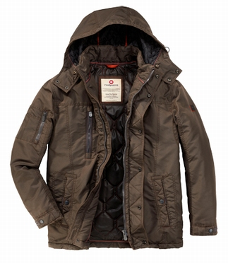 Redpoint gevoerde winterjas MALONE, bruin