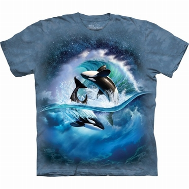 T-shirt Orca Waves