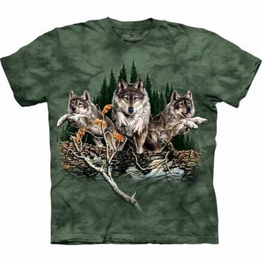 T-shirt Find 12 Wolves