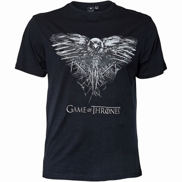 Replika t-shirt Game of Thrones, zwart