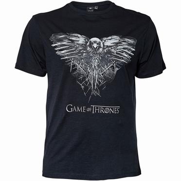 Replika t-shirt Game of Thrones, zwart