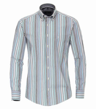 Casa Moda Casual Fit overhemd LM, gestreept