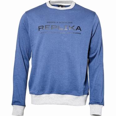 Replika Jeans Zomer sweater REPLIKA, blauw