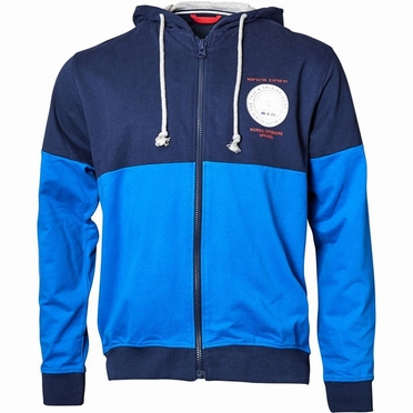 North 56°4 Sportief vest m. capuchon, navy/blauw