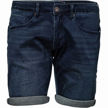 North 56°4 denim shorts stretch, dark blue wash