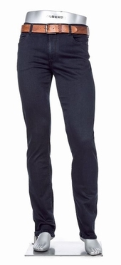 Alberto 5-pocket Regular Slim Fit T400 stretch L30, navy