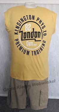Redfield tanktop 'London 82', maisgeel