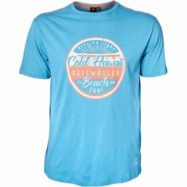 Replika t-shirt 'Beach Surf', turquoise