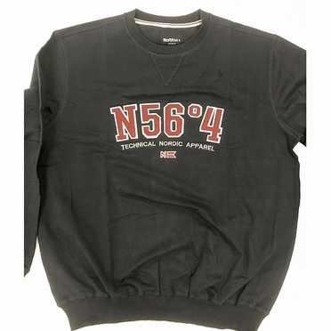 North 56°4 sweatshirt N56°4, navy blauw