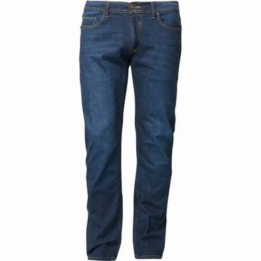 North 56°4 jeans van KURABO denim RINGO, blue used wash