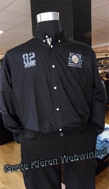 """Redfield overhemd LM """"82 Campus"""", zwart"""
