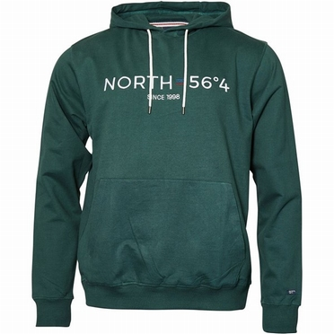 North 56°4 Hooded sweater NORTH, d.groen
