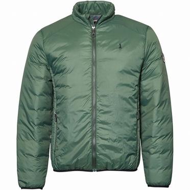 North 56°4 gewatteerde winterjas, dark green