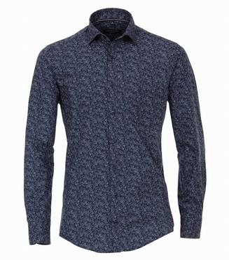Casa Moda Kent Casual Fit overhemd LM, navy