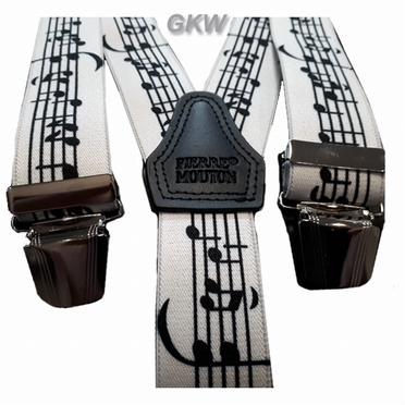 Bretels in Y-vorm met muziek