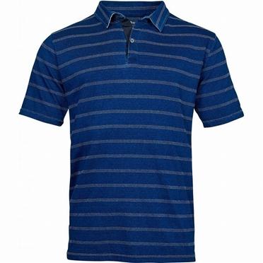 North 56°4 striped polo, indigo blue