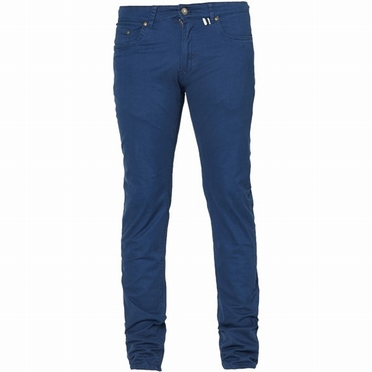 North jeans m. stretch RINGO L34, navy blauw